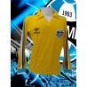 - Camisa retrô  Grêmio goleiro amarela logo  ML - 1983