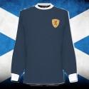 Camisa retrô Escócia  gola careca ML - 1980