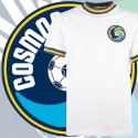 Camisa retrô Cosmos  branca 1977