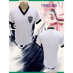 Camisa retrô Atletico mineiro decada 80-86