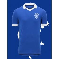 Camisa Retrô Glasgow Rangers 1980 ESC