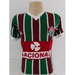 Camisa retrô Fluminense banco nacional