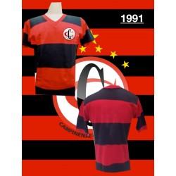 Camisa retrô  Campinense clube 1991