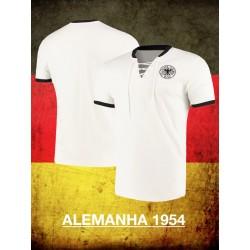 Camisa retrô Alemanha 1954