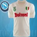 Camisa Retrô Napoli branca  Buitoni  - ITA