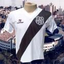 Camisa retro Ponte Preta branca tradicional 1983