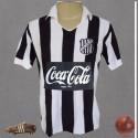 Camisa retrô Ceará Sporting Club 1988 listrada coca cola.
