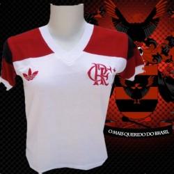 Camisa retrô Flamengo baby look 1981