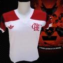 Camisa retrô Flamengo baby look  - 1981