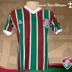 Camisa retrô Fluminense 1985 campeão Brasileiro
