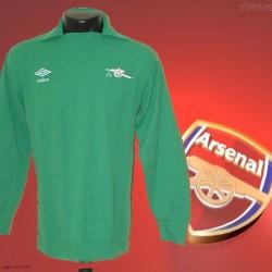 Camisa retrô Arsenal  goleiro 1970- ENG