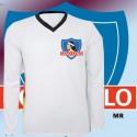 Camisa retrô Colo Colo branca ML 1970- CHI