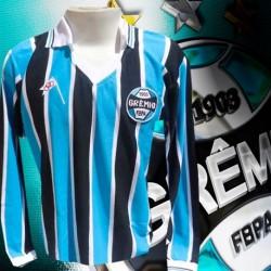 Camisa retro Grêmio manga longa decada de 80