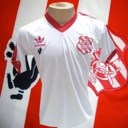 - Camisa retrô Bangu branca -  1980