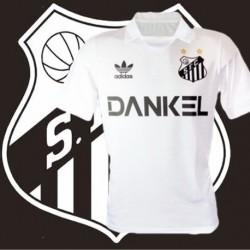 Camisa retrô  Santos topper gola polo década de 80
