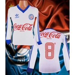 Camisa retro Bahia 1988 manga longa