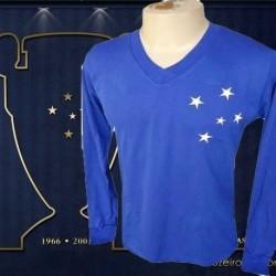 Camisa retrô Cruzeiro manga longa   - 1976