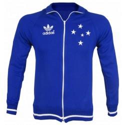 Camisa retrô Cruzeiro baby look tradicional azul