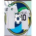 Camisa retrô Cosmos de  Nova york Pelé -1977
