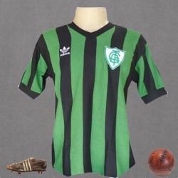 Camisa retrô América mineiro 1970 logo